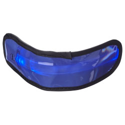 Fascia da braccio regolabile, elastica con luce LED ed ...