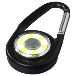 Moschettone con Luce COB LED. Accensione/spegnimento co...