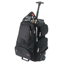 Trolley perfetto come bagaglio a mano, dotato di scompa...