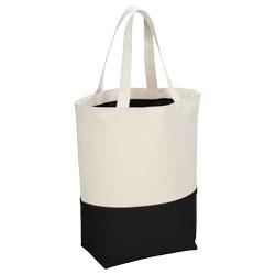 Questa borsa shopper in cotone 284 g/m² è caratterizz...