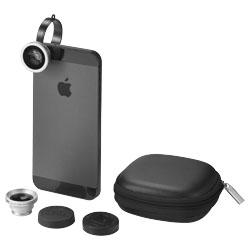 Aggancia semplicemente la lente allo smartphone per far...