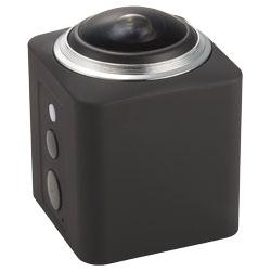 Questa Action Camera 360° Wi-Fi è fornita di una lent...