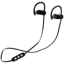 Gli auricolari Bluetooth® con logo che si illumina Bri...