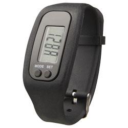 Smartwatch in silicone con fibbia in metallo, pulsanti ...