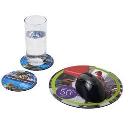 Include un tappetino per mouse Q-Mat e un set di due so...
